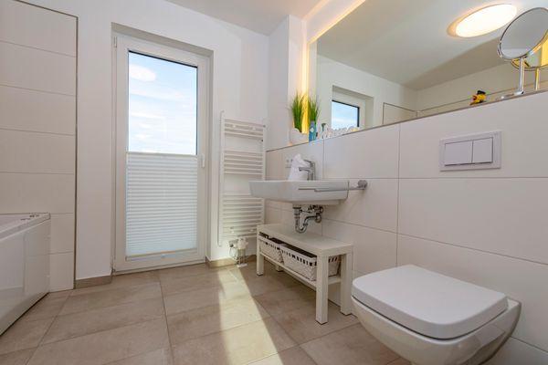 Annas Heimat am Meer  - Badezimmer