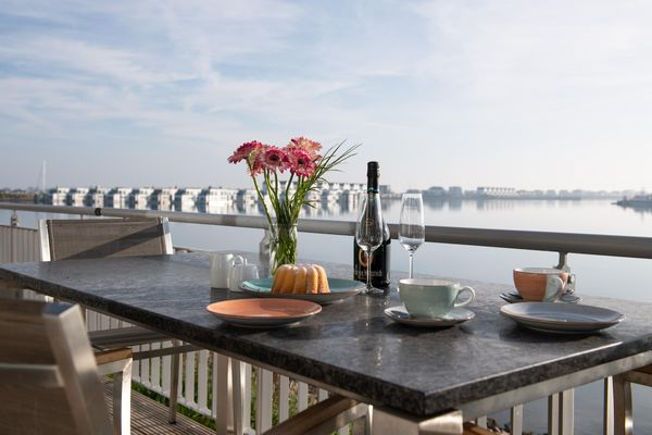 Haus Hafenblick - Terrasse