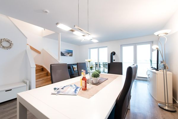 Haus Hafenblick - Wohnzimmer