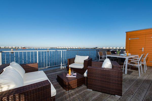 Newport  - Balkon