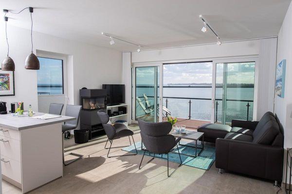 Dock 76 Promenade  - Wohnzimmer