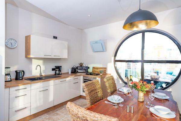Jazz ArT's Penthouse  - Küche / Küchenzeile