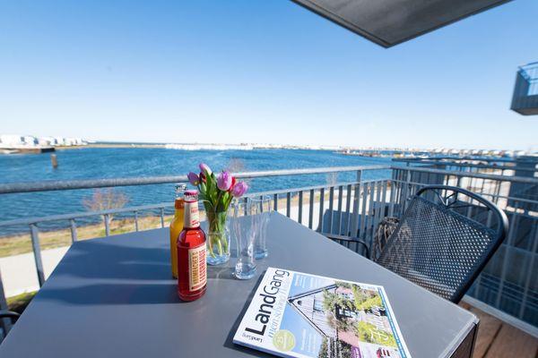 Hafenkoje  - Balkon
