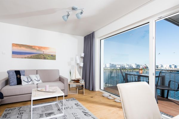 Hafenkoje - Wohnzimmer
