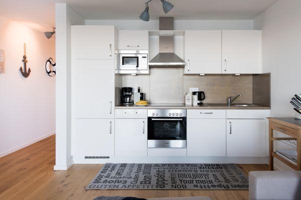 Hafenkoje  - Küche / Küchenzeile