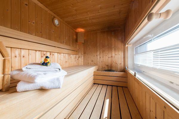 Perspektive  - Sauna