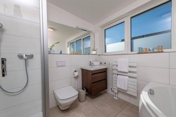 Strandkorb  - Badezimmer