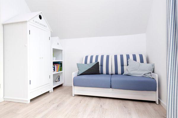 Strandkorb  - Schlafzimmer