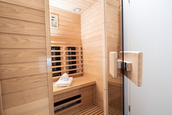 Nicks Seestern  - Sauna