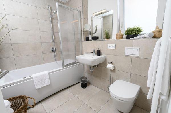 Strandhaus 37  - Badezimmer