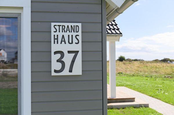 Strandhaus 37  - Fassade / Eingang