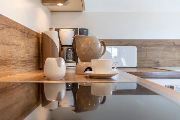 Sommer Kajüte - Küche / Küchenzeile