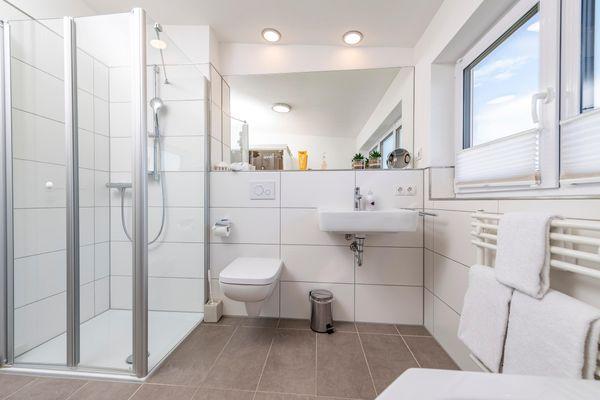 Sommer Kajüte - Badezimmer