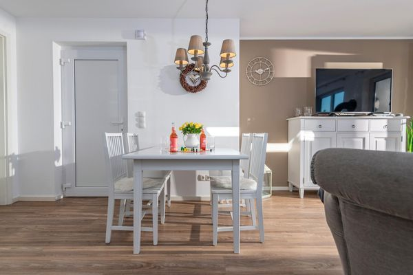 Sommer Kajüte - Wohnzimmer