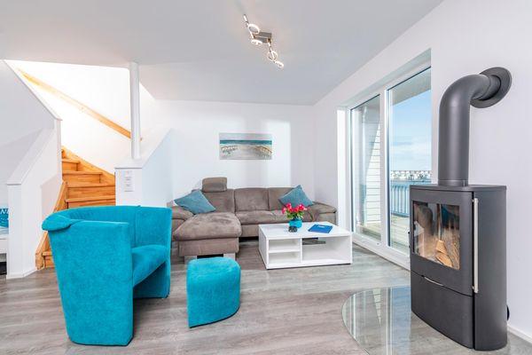 Strandnest  - Wohnzimmer