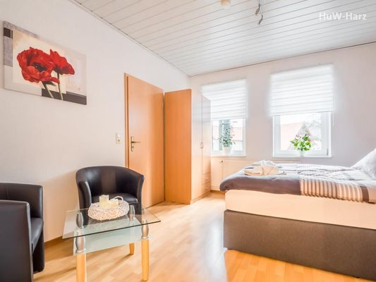 Ruhiges Apartment am Waldrand mit Schlossblick