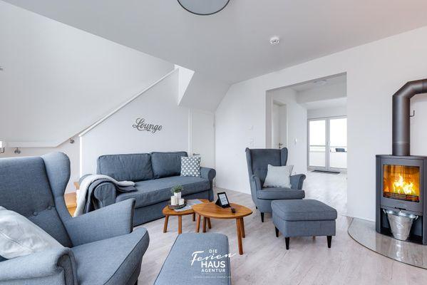 Ostsee Anker  - Wohnzimmer