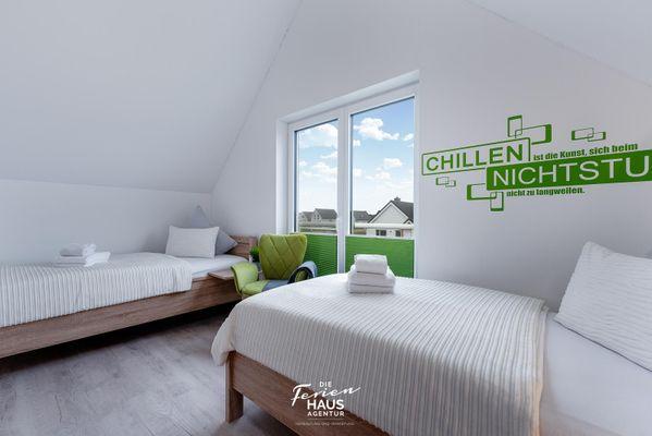 Inselperle  - Schlafzimmer