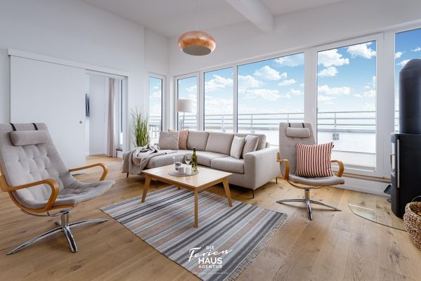 Sea View 27 - Penthouse  - Wohnzimmer