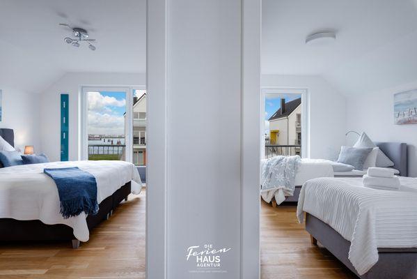 Haus Seepferdchen  - Schlafzimmer