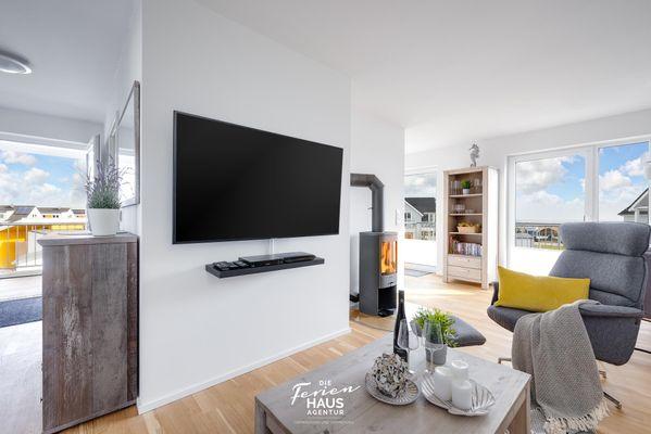Haus Seepferdchen  - Wohnzimmer