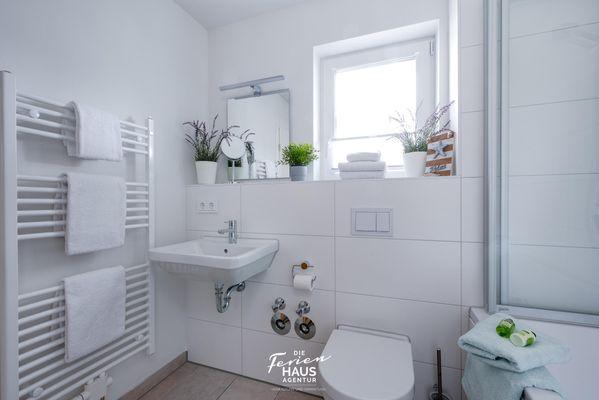 Haus Seepferdchen  - Badezimmer