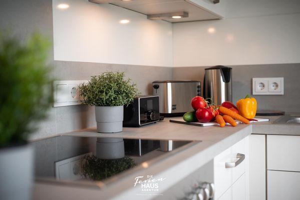 Haus Seepferdchen  - Küche / Küchenzeile