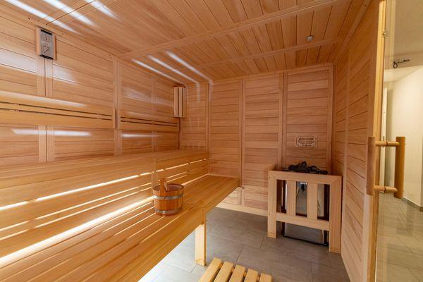 Steuerbord auf der Ostsee  - Sauna