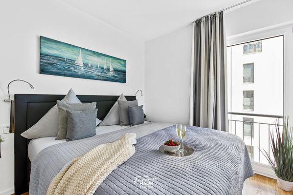 Portus  - Schlafzimmer