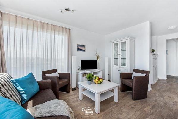 Fjordblick  - Wohnzimmer
