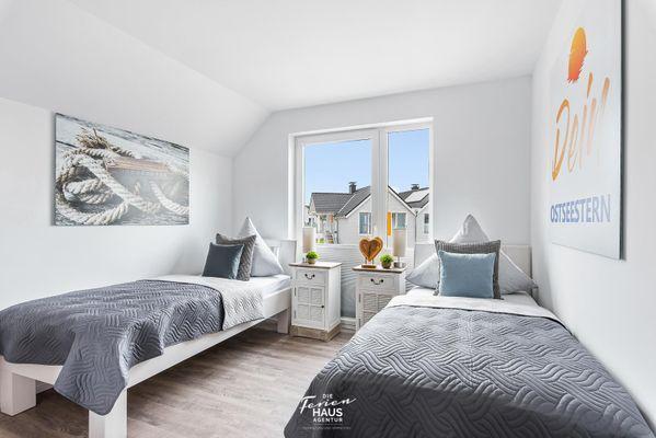 DEIN Ostseestern  - Schlafzimmer