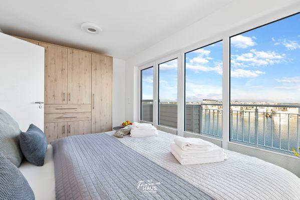 Uferperle  - Schlafzimmer