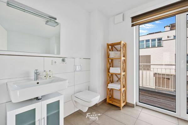 Uferperle  - Badezimmer