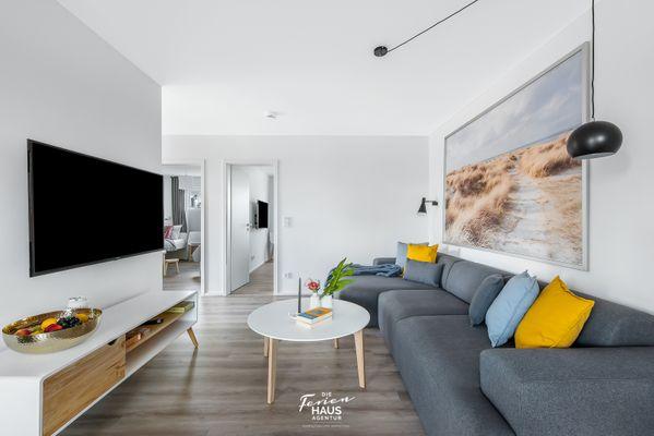 Küstenliebe  - Wohnzimmer