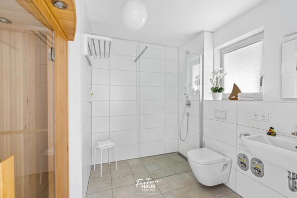 Küstenliebe  - Badezimmer