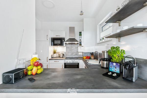 Zuhause am Meer  - Küche / Küchenzeile