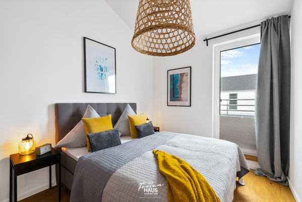 Penthouse Hygge  - Schlafzimmer