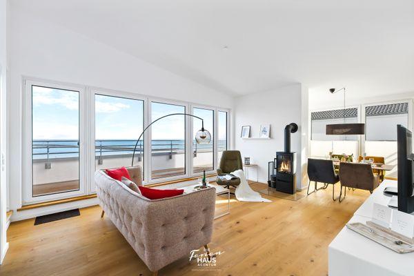 Penthouse Hygge  - Wohnzimmer