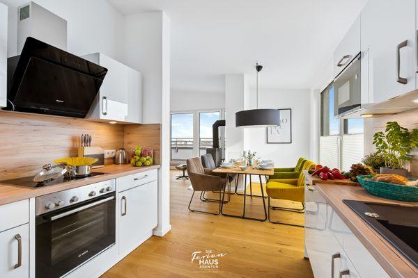 Penthouse Hygge  - Küche / Küchenzeile