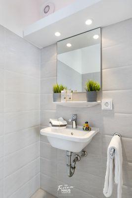 Strandvilla  - Badezimmer