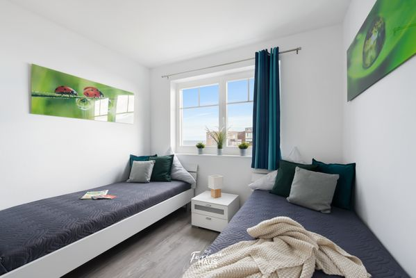 Strandvilla  - Schlafzimmer