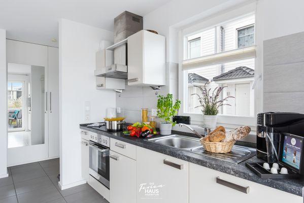 Strandvilla  - Küche / Küchenzeile