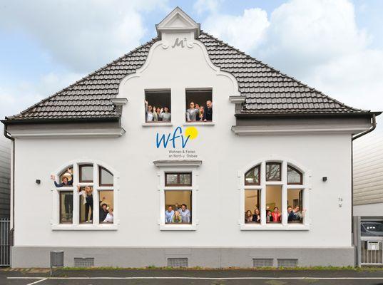 Das WFV Team in der Zentrale in Wuppertal