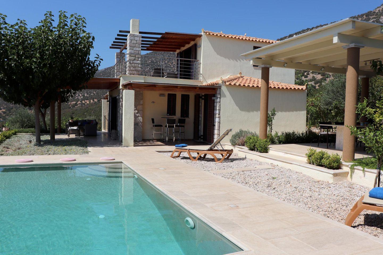 Ferienhaus IRIDA mit Pool auf dem Peloponnes, Argolis