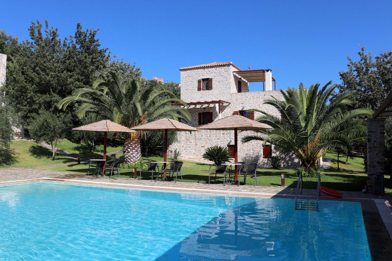 Ferienhaus Vathia mit Pool auf dem Peloponnes, Lakonia in Skoutari