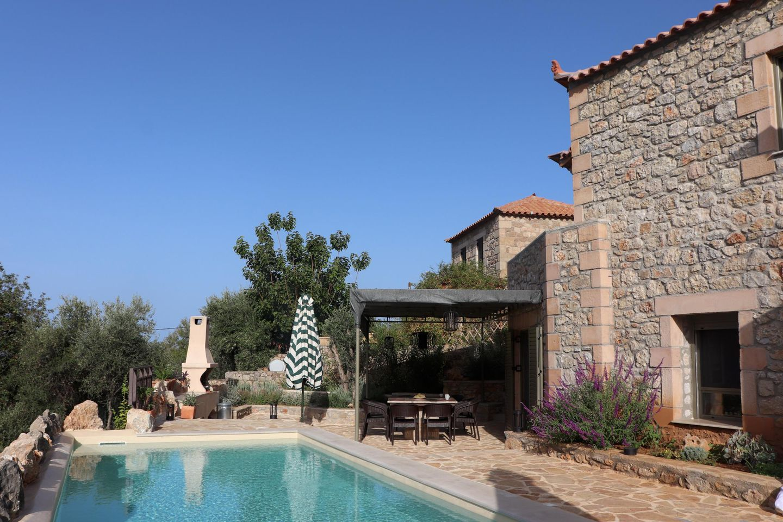 Ferienhaus SPITI-MANOLIS mit Pool auf dem Peloponnes, Stoupa
