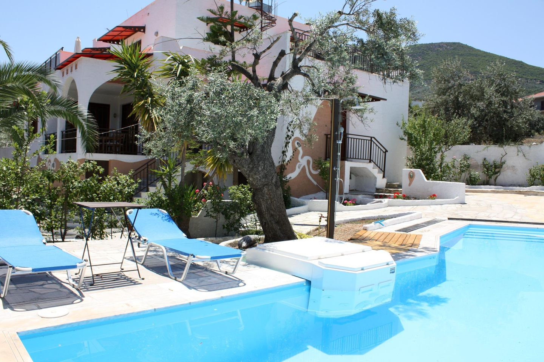 Ferienhaus HIPPOKAMP mit Pool auf dem Peloponnes, Xiropigado, Arkadien