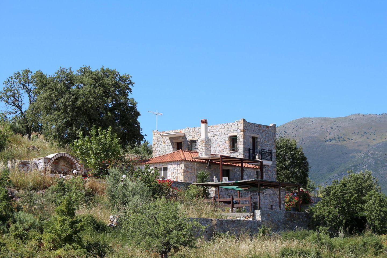 Ferienhaus MESONISSA Pool auf dem Peloponnes, Kamares