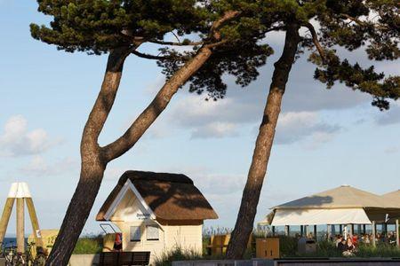 Altes Zollhaus Casa Sandstrand Scharbeutz - OT Haffkrug - Promenade Scharbeutz beim Restaurant Cafe Wichtig 2km