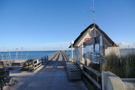 Altes Zollhaus Casa Sandstrand Scharbeutz - OT Haffkrug - Seebrücke in Haffkrug